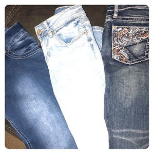 Ladies Rue 21 Jeans- 3 pair bundle